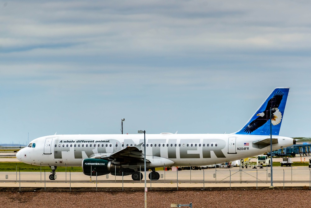 Frontier Airlines Offering $39 Fares to Denver at Hector International